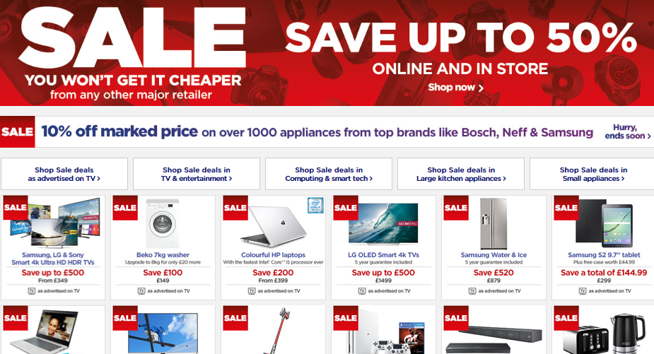 Get instant savings with this special offer from Currys! Free Delivery On All Orders. Get free delivery on any order from the Currys website. Options range from computers to kitchen appliances and TVs, with items from big-name brands such as Hotpoint, Samsung, Canon and many more.